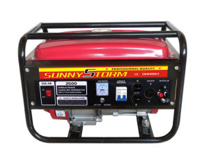 2kw/2.5kw/ 3kw/60Hz 110V/220V Portable Gasoline Generators Set, with CE pictures & photos