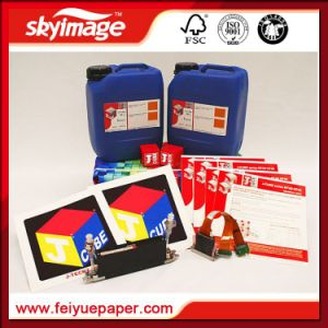 J-Teck J-Cube Kf40 Type Dispersed-Dye Sublimation Ink for High Speed Industry Print Head Kyocera pictures & photos