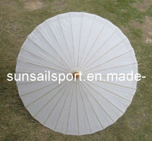 Wedding Favor White Paper Parasol Umbrella