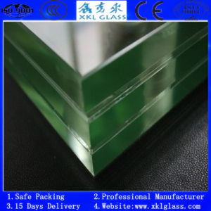 Tempered Laminated Bullet Proof Glass with CE&ISO901