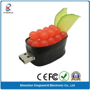 Hot Food PVC 512MB USB Flash Drive pictures & photos