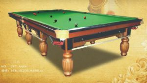 Professional Manufacturer International Standard Snooker Table Billiard Table Pool Table pictures & photos