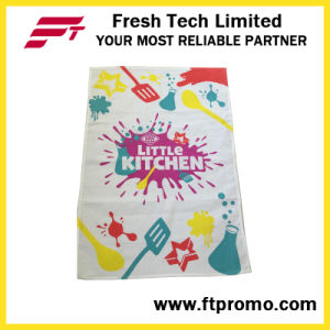 Promotional Printed Lightweight 100% Cotton Tea Towel pictures & photos