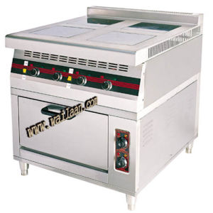 4-Burners Induction Cooker with Electric Oven (GTL-814)