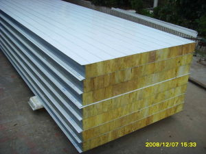 Sandwich Panel Rock Wool pictures & photos