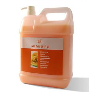 Low Price 5kg Papain Skin Whitening Shower Gel (OEM) pictures & photos