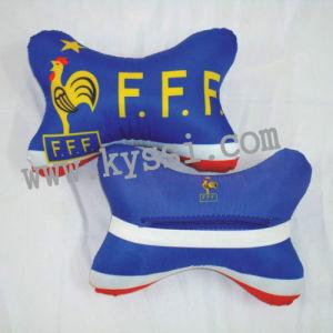 Soccer Teams Car Cushion Head Pillow Neck Cushion