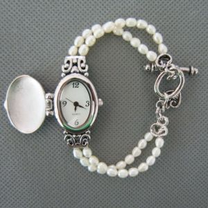 Freshwater Pearl Watch, Pearl Wristwatch (WH111) pictures & photos