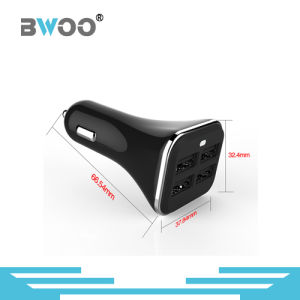 Hot-Sale Model 4 USB 5V6.8A Car Charger pictures & photos