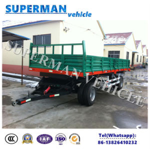 20t Agriculture Use Cargo Dump Trailer/Drawbar Trailer/Tipping Trailer pictures & photos