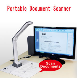 Ot-Selling 3MP Portable Document Scanner for Office and Education Industry pictures & photos