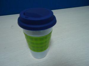 Ceramic Cup / Porcelain Mug / Silicone Sleeve /