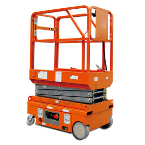 Mini Scissor Lift (self propelled) Max Working Height 5 (m) pictures & photos