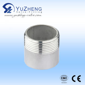 Stainless Steel Welded Nipple with One Side Thread pictures & photos