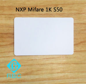 PVC Contactless NXP MIFARE Classic S50 1k Programmable ID Card pictures & photos