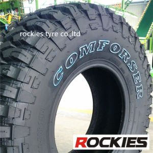 4X4 Mud Terrain SUV Tires, Light Truck Car Tires (33X12.5R15LT)