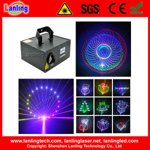 2 in 1 RGB Animation Effect 3D Kaleidoscope Laser Light Stage Lighting pictures & photos