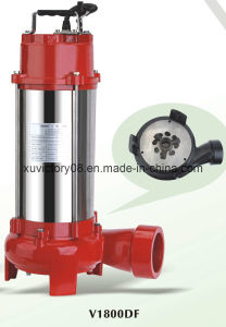 CE Approved Stainless Steel Grinder Pump (V1300DF) pictures & photos