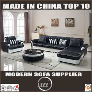 Europe Design Living Room Pure Leather Sofa Furniture (LZ-069) pictures & photos