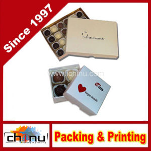 Chocolate / Cake Packaging Paper Box (1243) pictures & photos