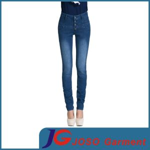 Women High Waist Denim Jeans (JC1346) pictures & photos