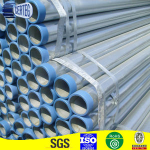 Mild Welded 3inch Galvanized Pipe with PVC Cups (HDP014) pictures & photos