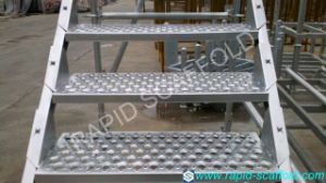 Hake Ringlock Stair High Building System Scaffolding pictures & photos