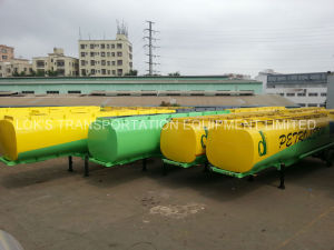 Fuel Tanker Semi-Trailer Tri-Axle (46000 LITER) pictures & photos