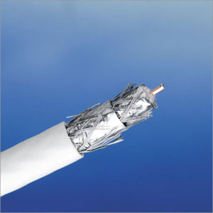 Coaxial Cable RG6 Tri-Shield, Quad Shield pictures & photos