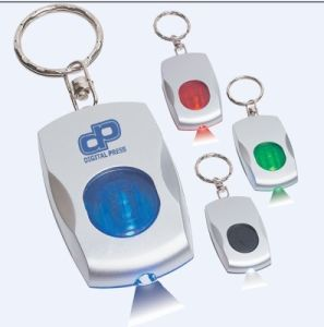 Mouse Shaped Keyring With LED Light (ZS-830)