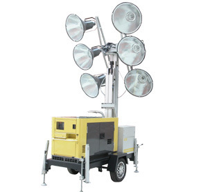 Diesel Generator Mobile Light Tower (CDM09) pictures & photos