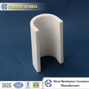 High Temperature Resistant Alumina Ceramic Cylinder Pipe Cone Liner pictures & photos