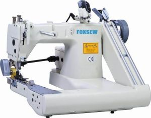 Double Needle Feed-off-The-Arm Sewing Machine (with External Puller) pictures & photos