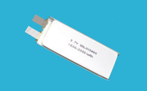 1500mAh 3.7V 1c Consumer Electronics Battery Cell pictures & photos