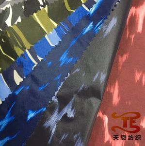 300t Nylon Taffeta Printed Fabric for Down Jacket Fabric pictures & photos
