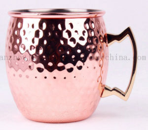 Stainless Steel Moscow Mule Copper Plating Cup Mug pictures & photos