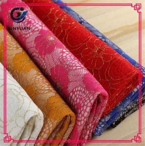 Cotton Nylon Gauze Dress Lace Fabric Wholesale pictures & photos