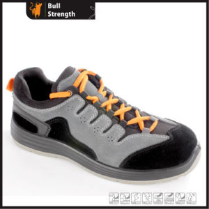 Industrial Leather Safety Shoes with PU Sole (SN5447) pictures & photos
