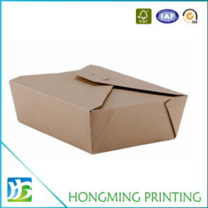 Manufacturer Food Grade Kraft Paper Salad Container pictures & photos