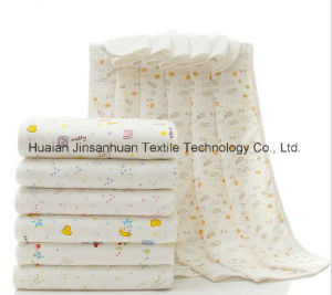 Super Soft Muslin Baby Bath Towel Muslin Blanket pictures & photos