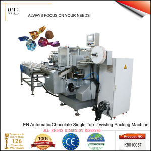 En Automatic Chocolate Single Top-Twisting Packing Machine (K8010057) pictures & photos