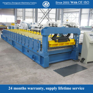 CNC Metal Corrugated Roof Sheet Roll Forming Machine pictures & photos