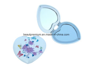 High Quality Heart Shape Double Side Aluminium Mirror BPS0234 pictures & photos