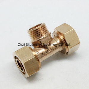 Multilayer Pipe Fittings Brass Compression Fittings pictures & photos