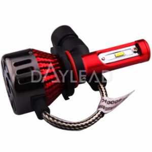 New Design Red Housing Imported High Power Chips 48W 9005 Mini LED Head Lamp 6000k pictures & photos