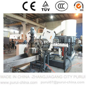 Plastic Recycling Pelletizing Machine for Crushed Rigid Flakes pictures & photos