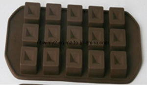15 Holes 100% Food Silicone Chocolate Mould pictures & photos