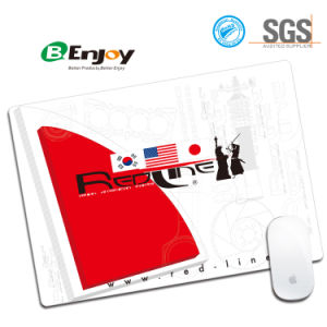Manufacture Cheap Customized Promotional Cloth Surface Mousepad pictures & photos