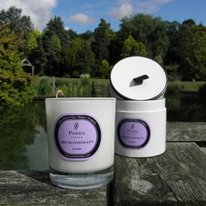 Natural Scented Glass Jar Candle