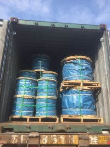 Galvanized Steel Wire Rope 6X37+FC/Iws/Iwrc Made in Nantong pictures & photos